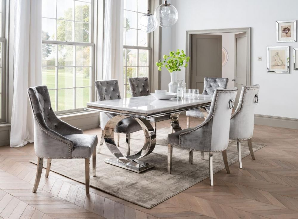 Swell Marble Dining Sets Dining Room Furniture First Furniture Dailytribune Chair Design For Home Dailytribuneorg