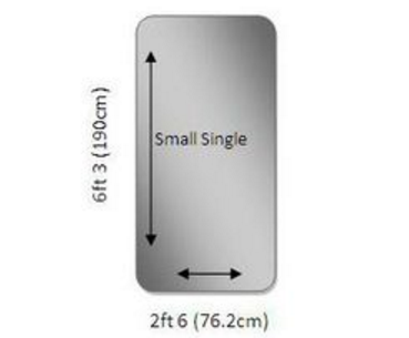Small Single - 2ft 6