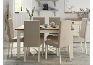 Provence Two Tone Dining