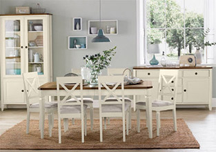 Sophia Two Tone Dining