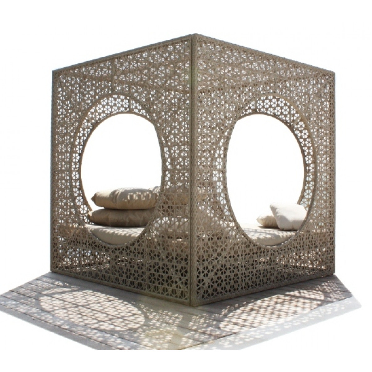 Skyline Rattan Cube Day Bed