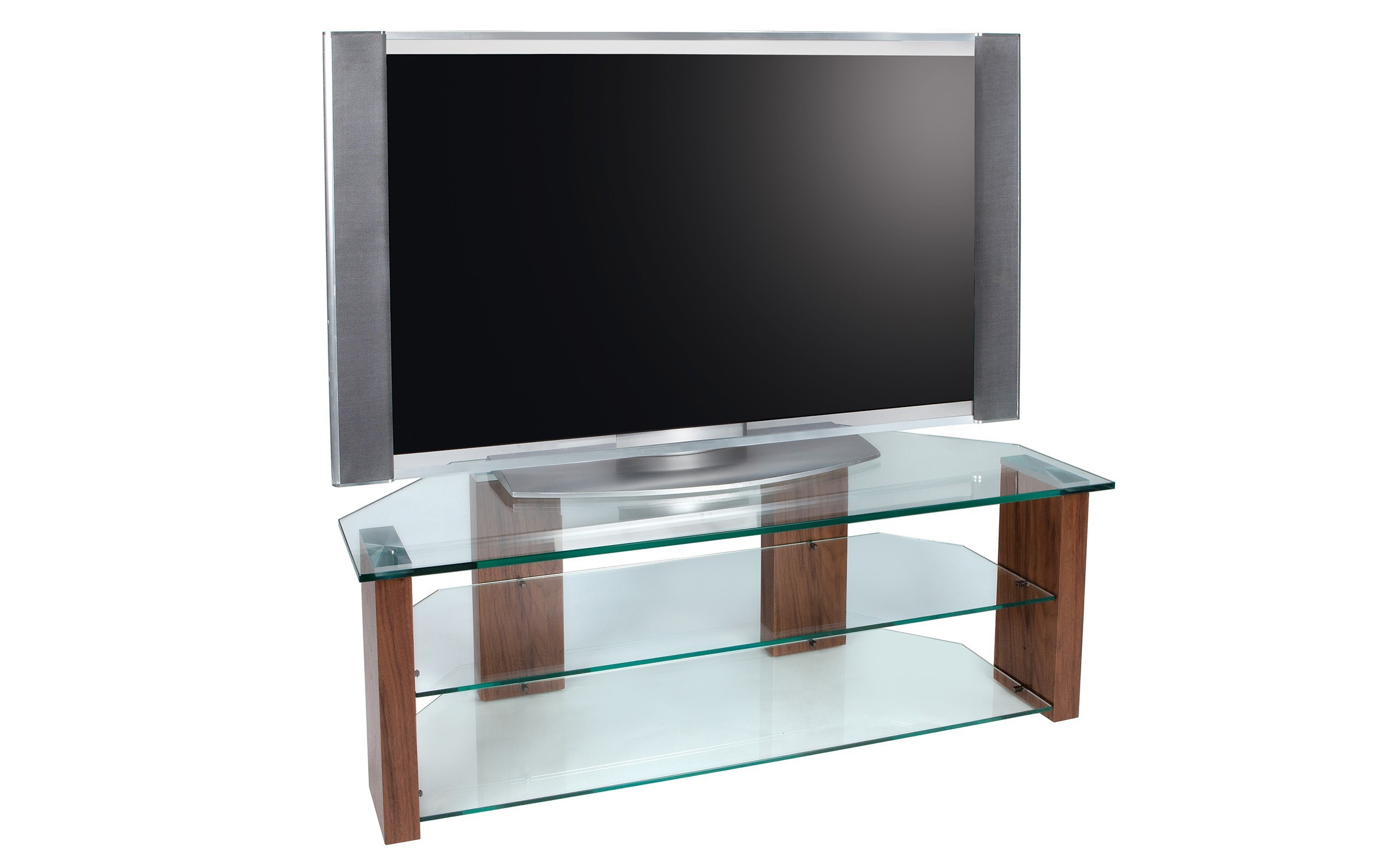 Photo of Greenapple lychee column glass tv stand