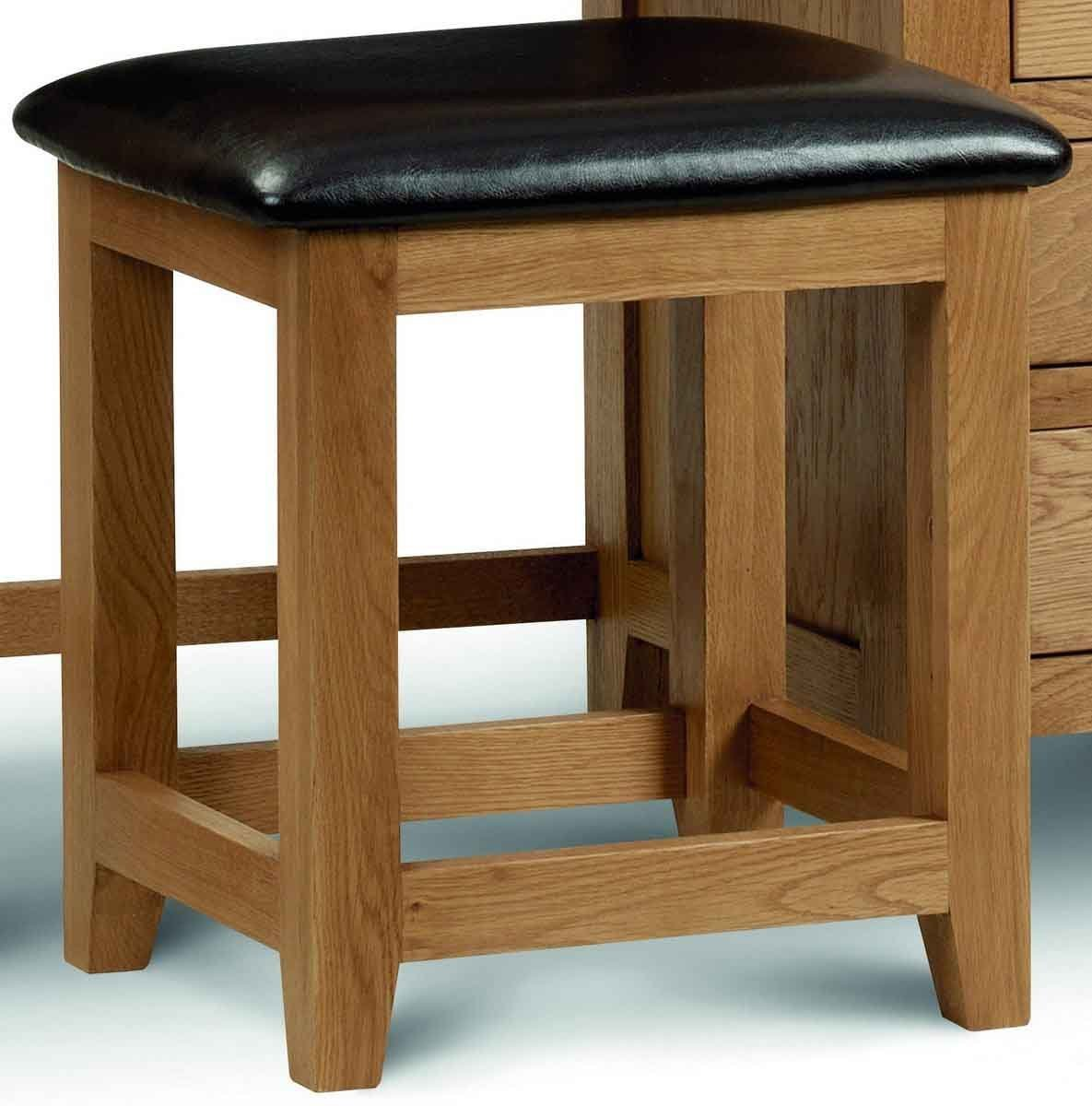 Photo of Julian bowen marlborough oak dressing stool