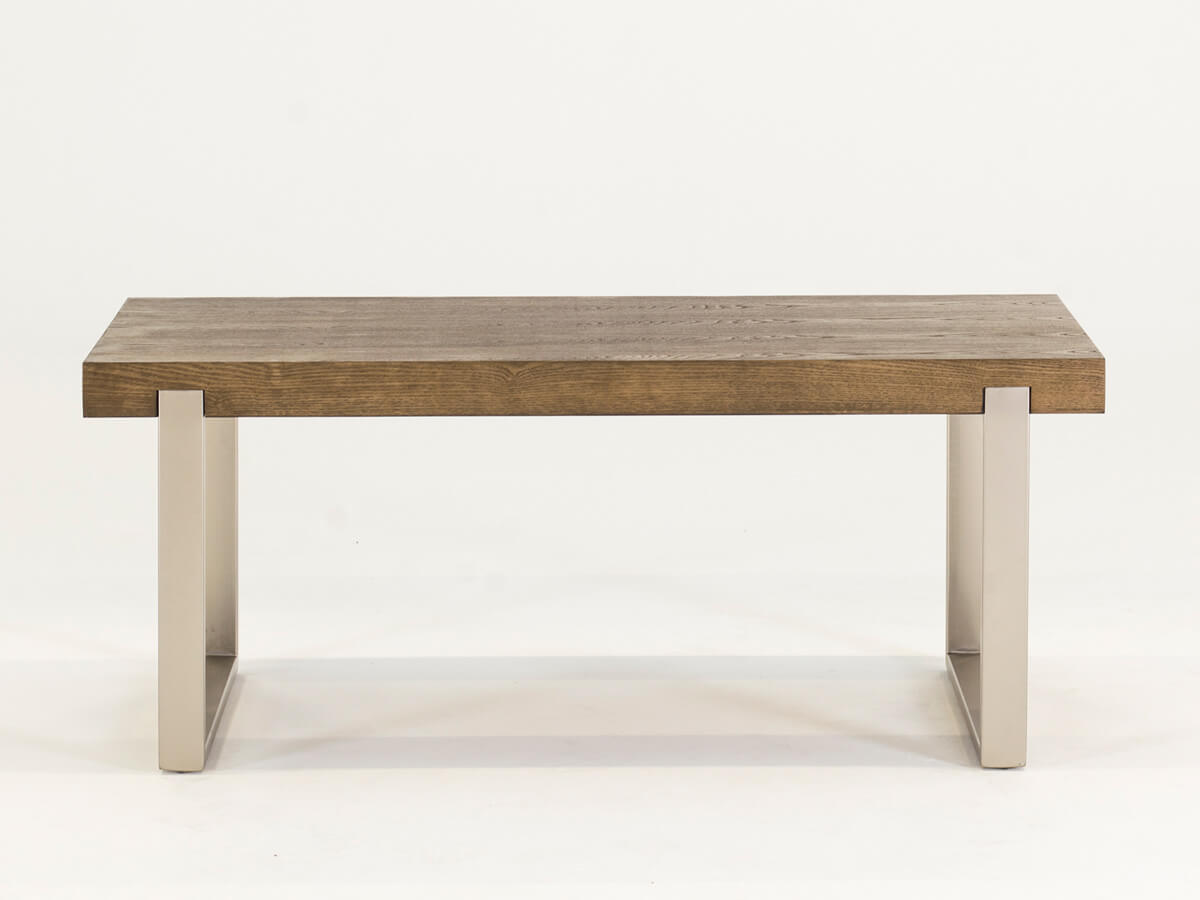 Photo of Valtteri brown wooden coffee table