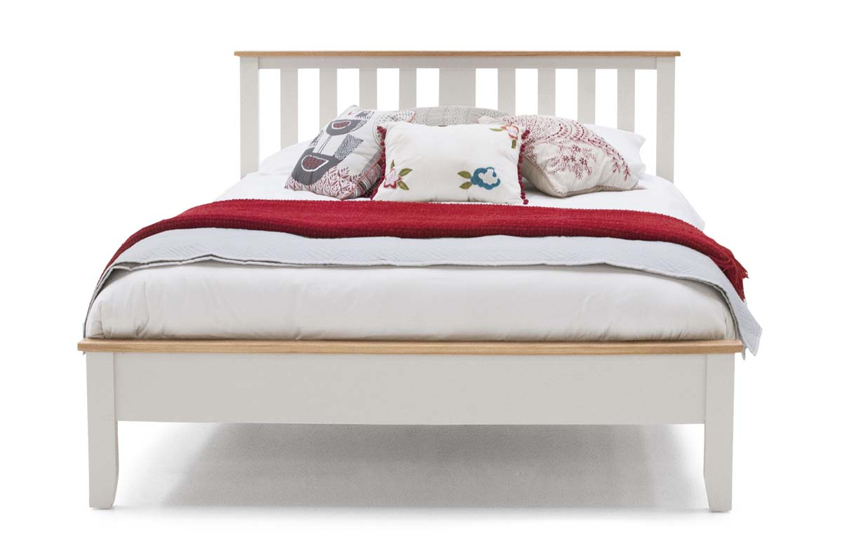 Chambery Two Tone Oak 3ft Single Low Footboard Bed