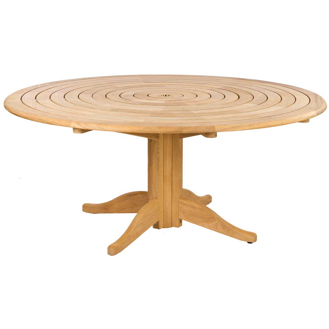 Photo of Alexander rose roble bengal pedestal 1.75m round table