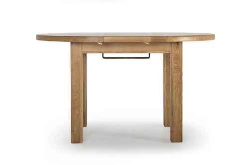 Hampshire Oak Extending Round Dining Table