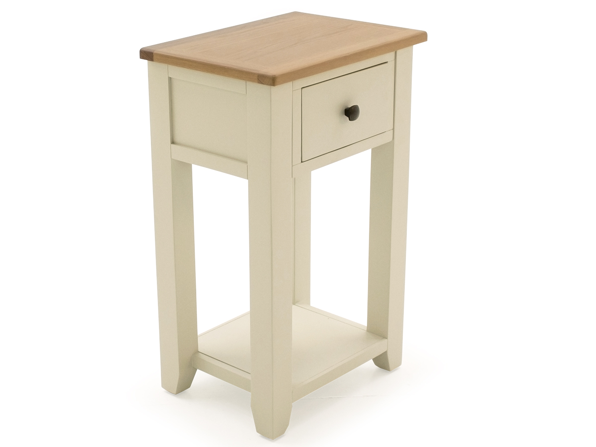 Rochelle Two Tone Wooden Telephone Table