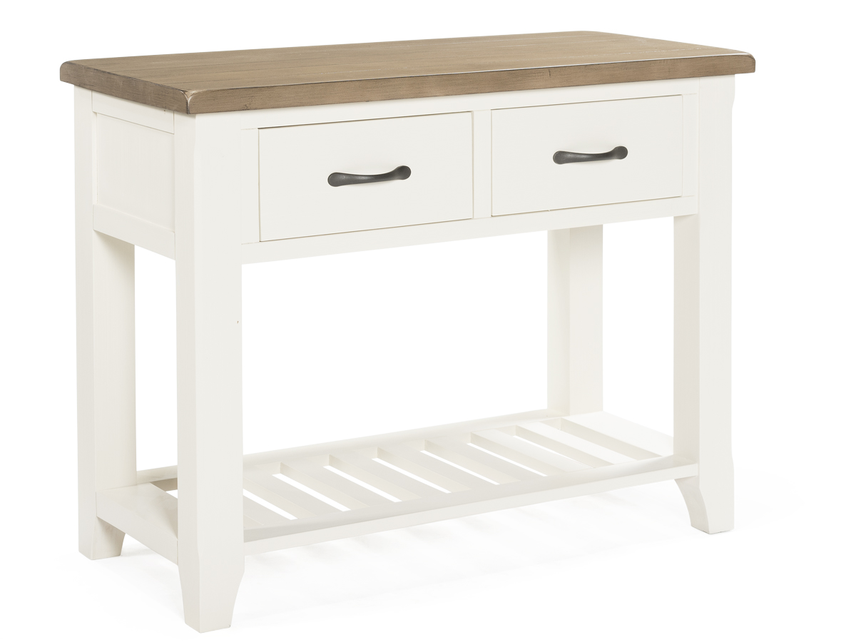Cranmore Two Tone Wooden Console Table
