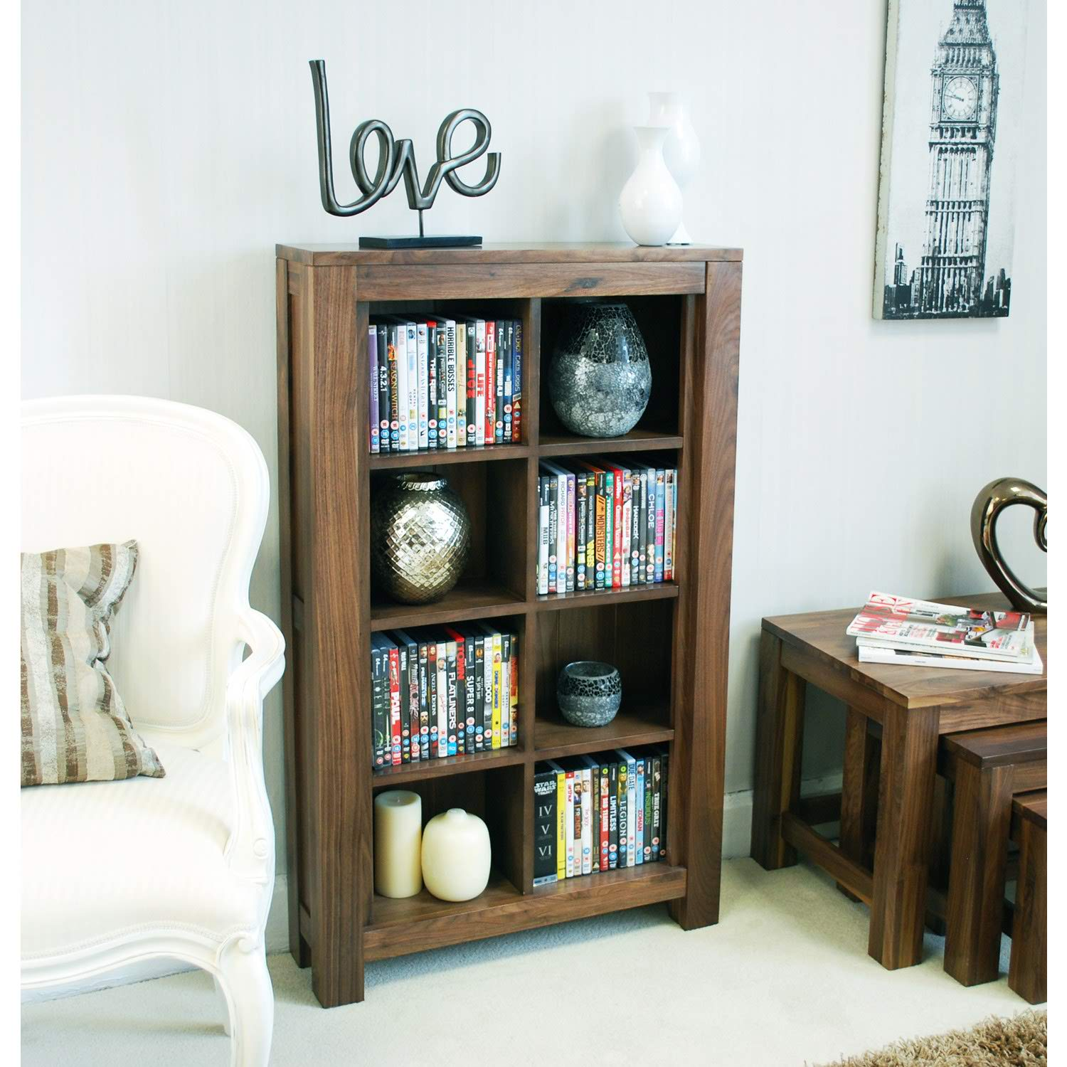 Photo of Baumhaus mayan open dvd / cd storage cabinet