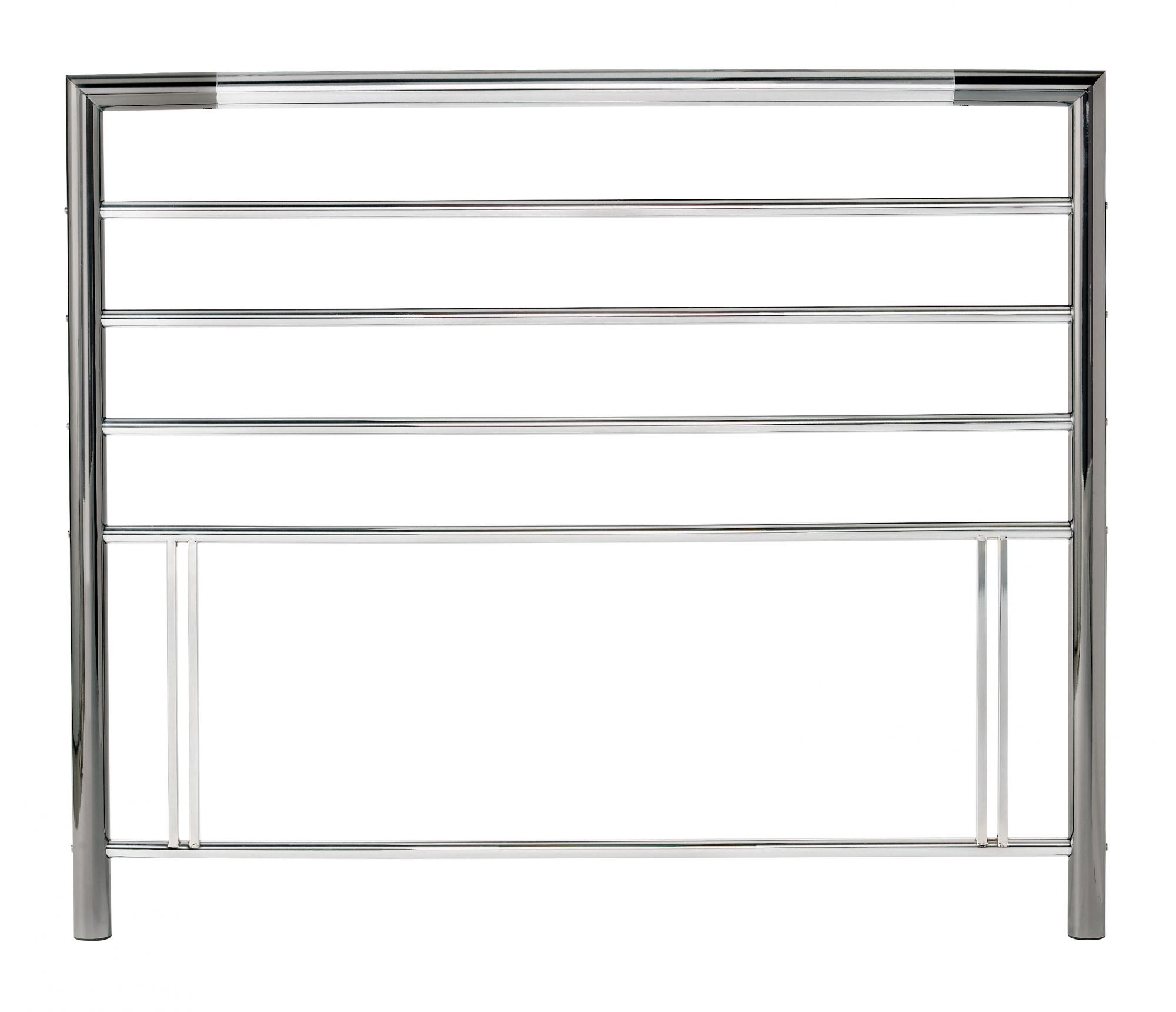 Photo of Bentley designs urban 5ft king size nickel chrome metal headboard