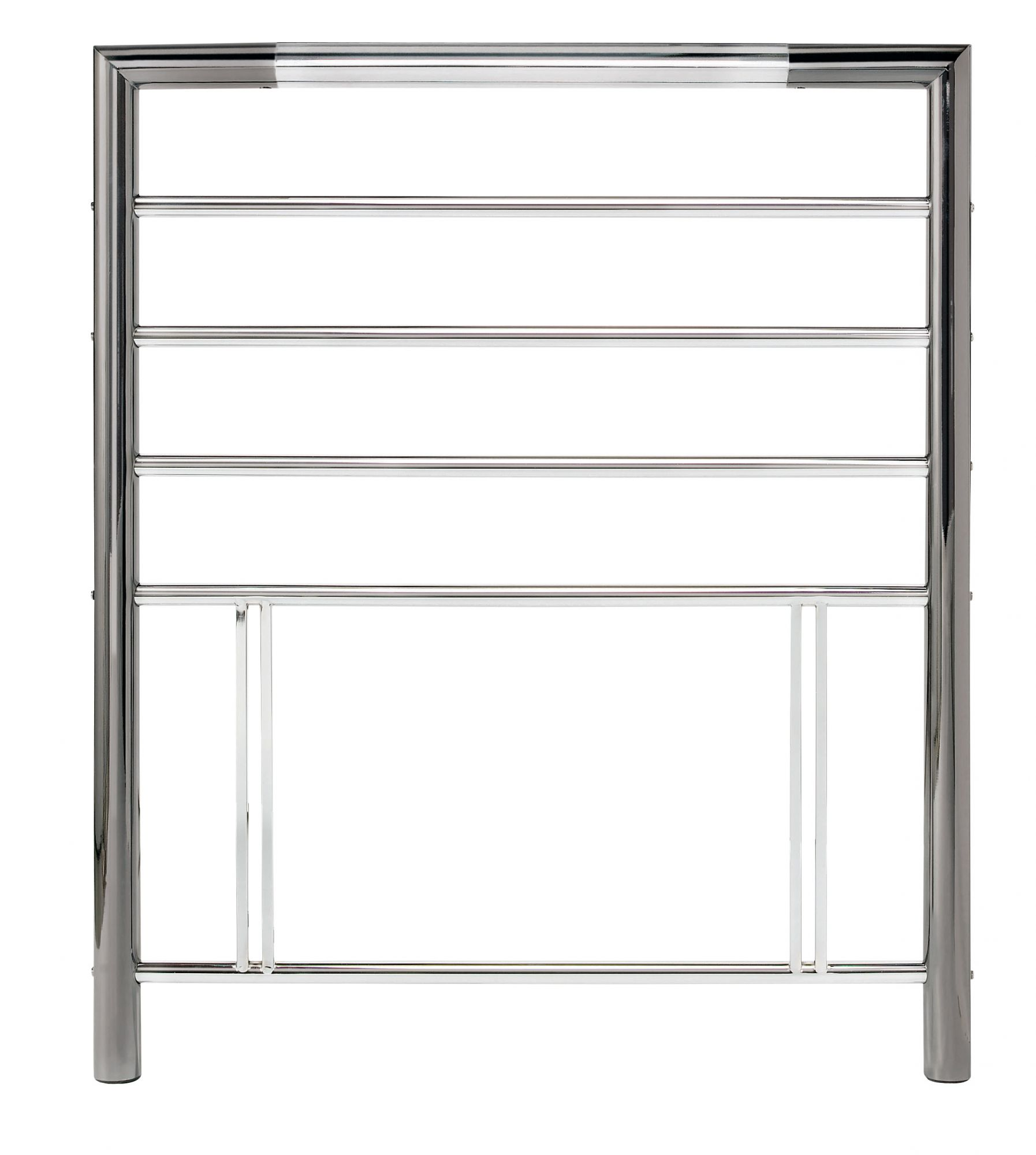 Bentley Designs Urban Chrome 3ft Single Metal Headboard