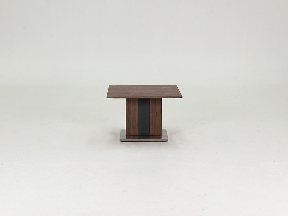 Photo of Almara walnut lamp table