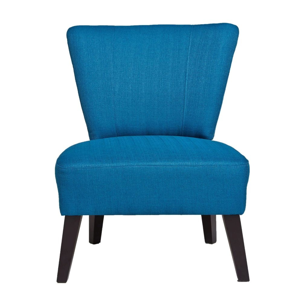 Click to view product details and reviews for Mandarin Turquoise Fabric Chair.