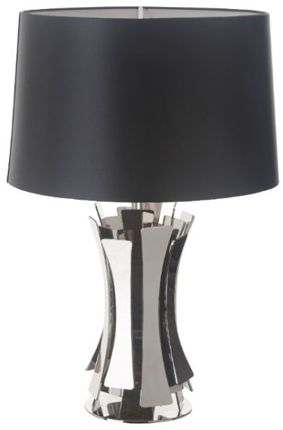 RV Astley Lytes Nickel Finish Table Lamp (Base Only)
