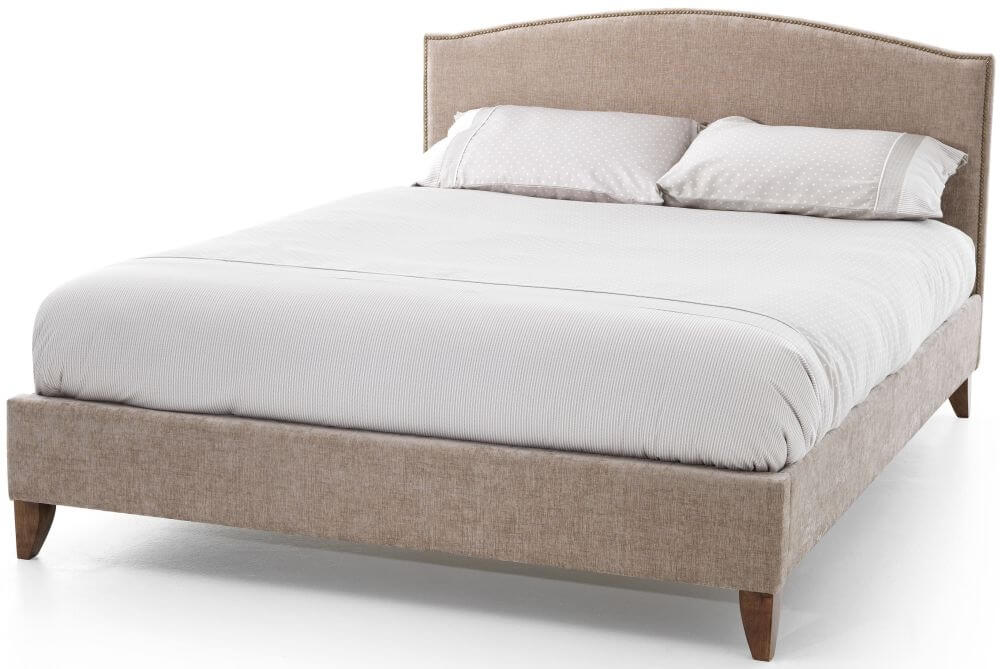 Photo of Serene charlotte 4ft6 double mink fabric bed