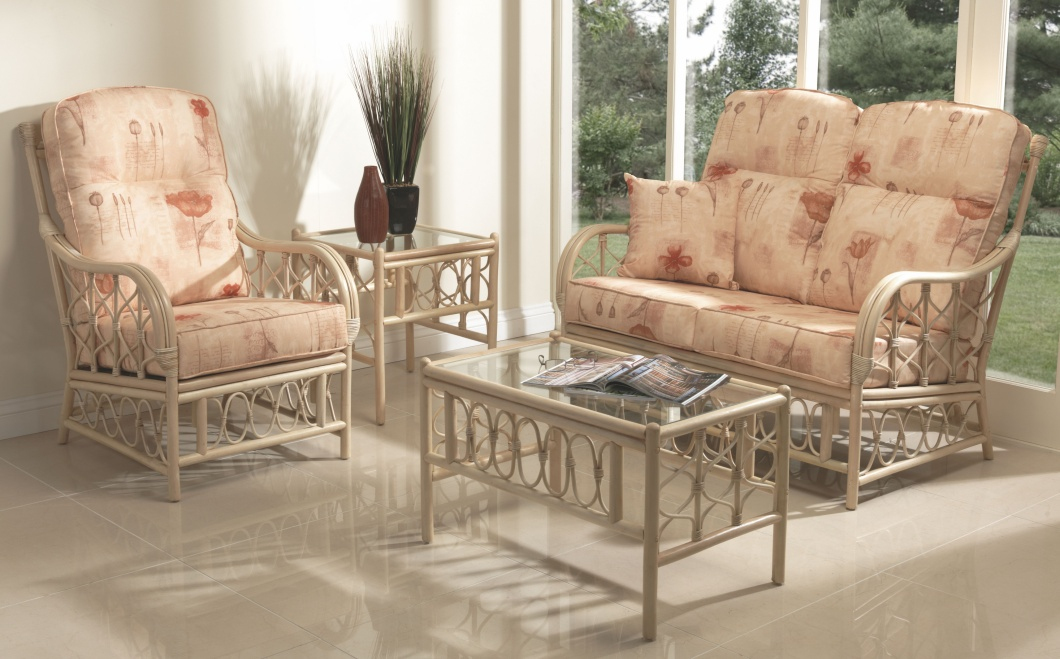 Desser Morley 3 Piece Suite Inc. 2+1+1 Seater Conservatory