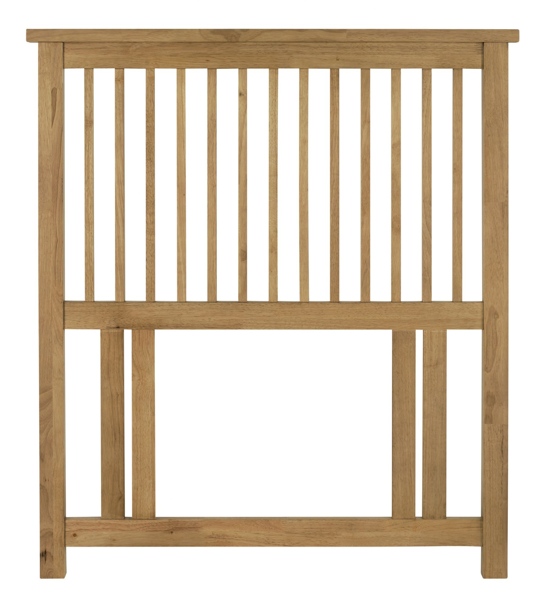 Bentley Designs Atlanta Oak 3ft Single Headboard
