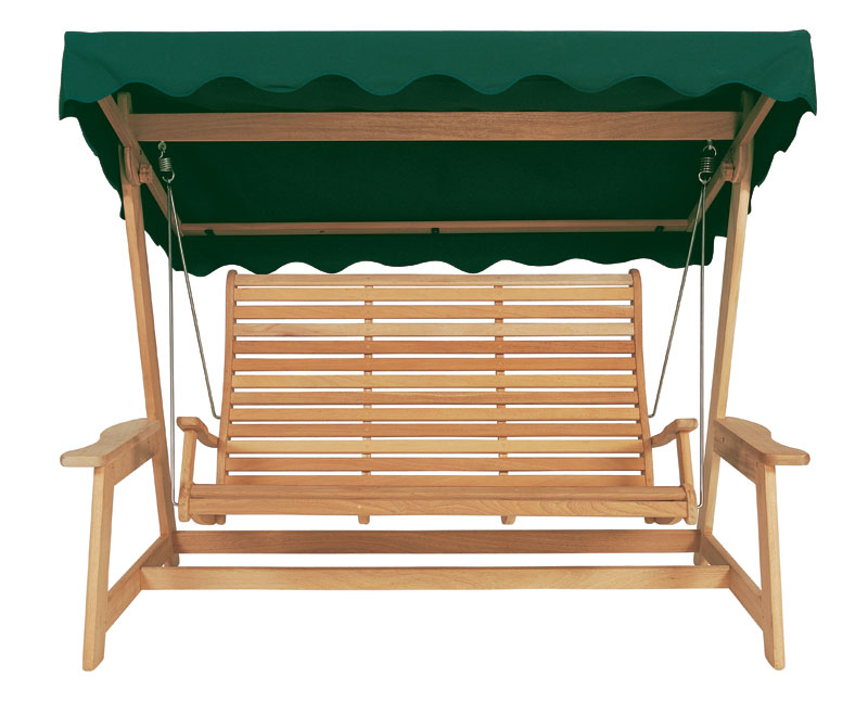 Alexander Rose Roble Green Wooden Swing Seat