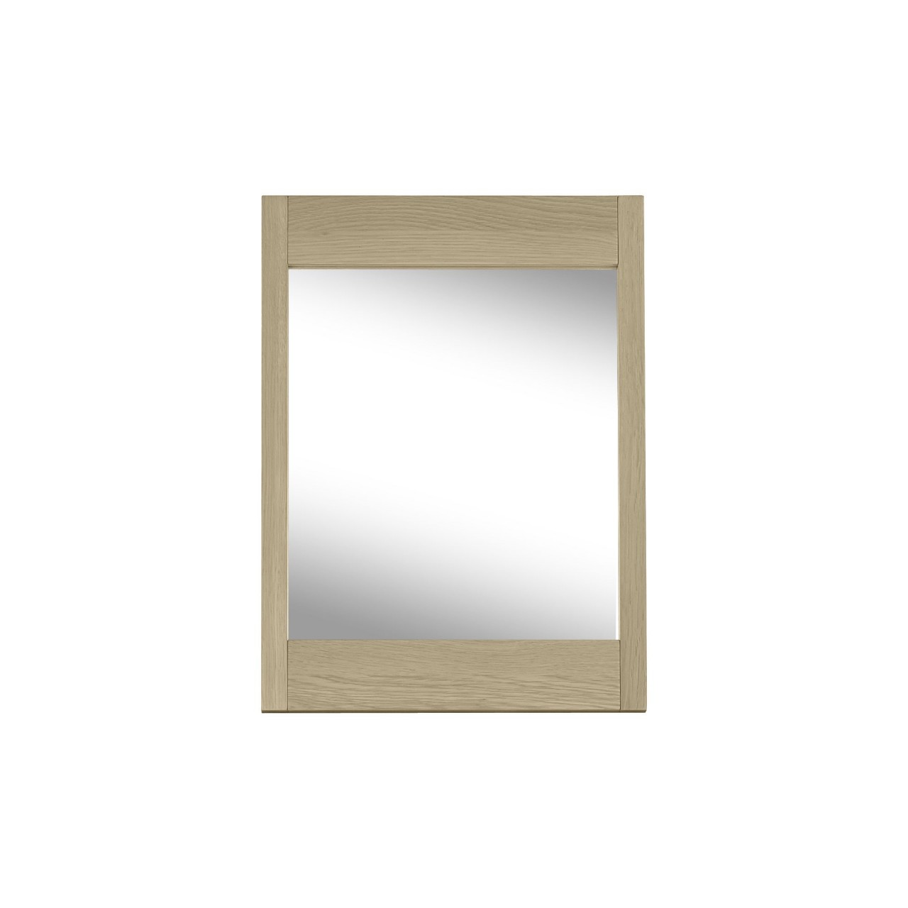 Photo of Bentley designs rimini aged oak and weathered oak vanity mirror