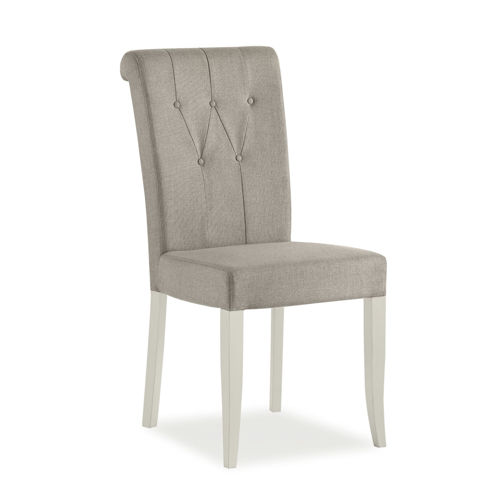Photo of Bentley designs hampstead soft grey and pebble grey chairs pair