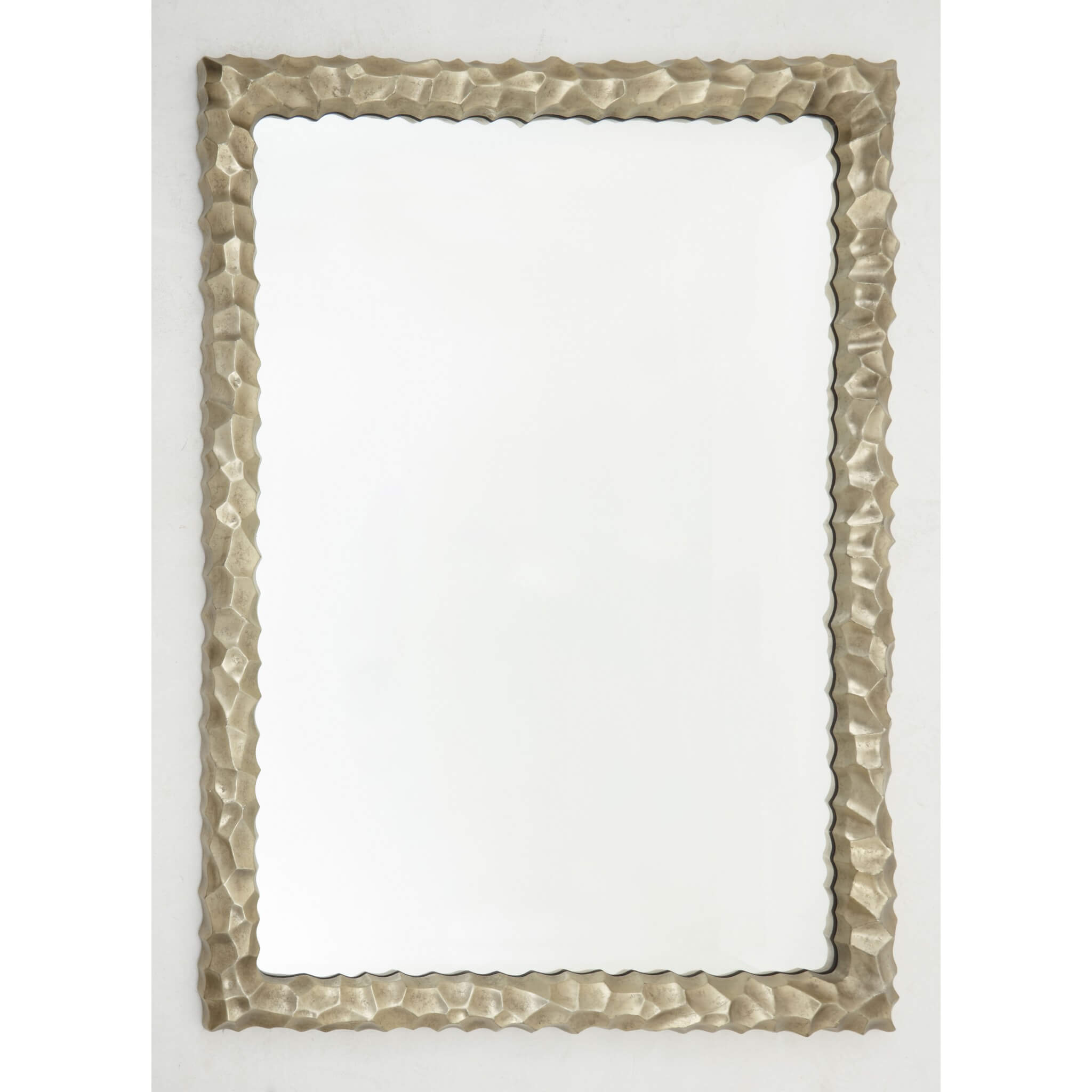 RV Astley Sasha Light Gold Leaf Rectangle Wall Mirror