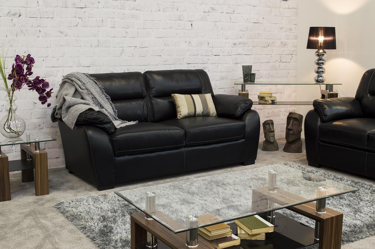 Leather sectional deals