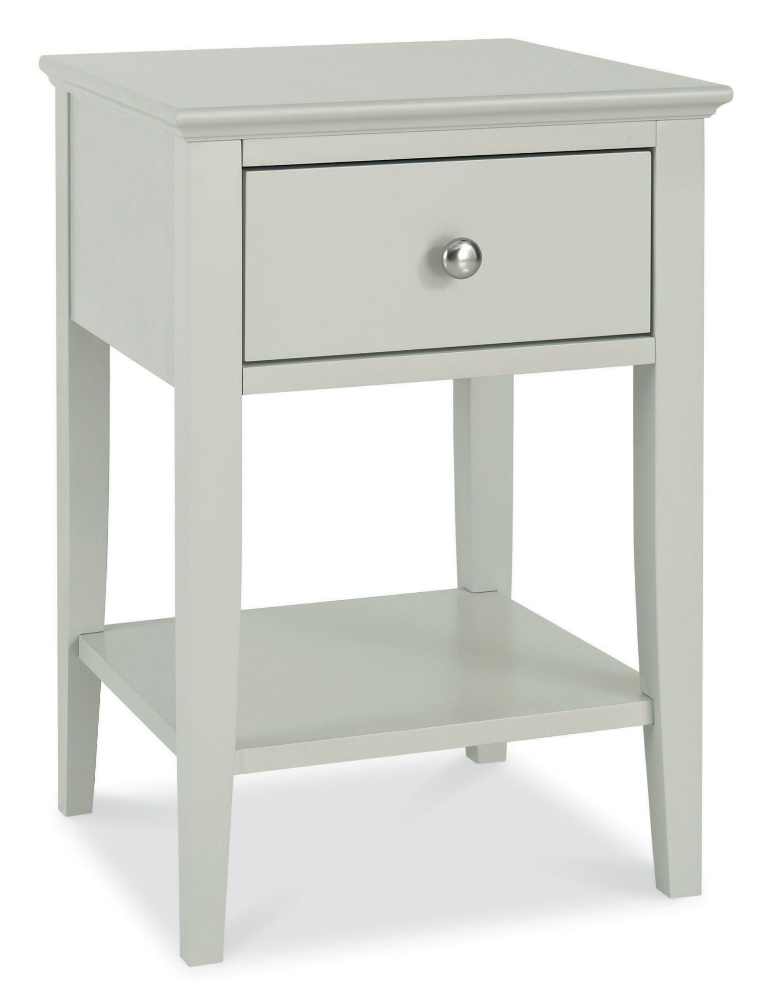Photo of Bentley designs ashby cotton 1 drawer nightstand