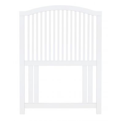 Bentley Designs Ashby White 3ft Single Slatted Headboard