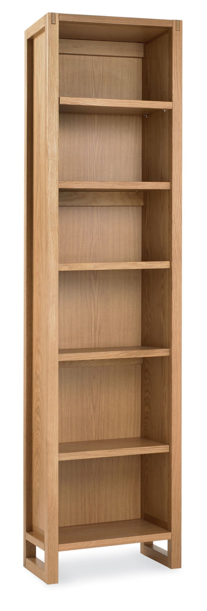 Photo of Bentley designs studio oak single bookcase