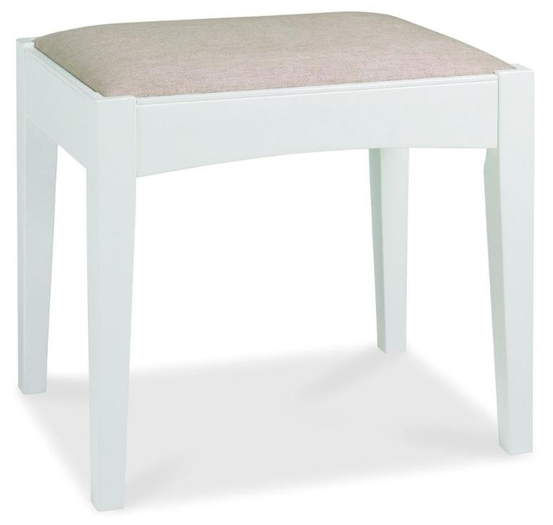 Photo of Bentley designs hampstead two tone dressing table stool