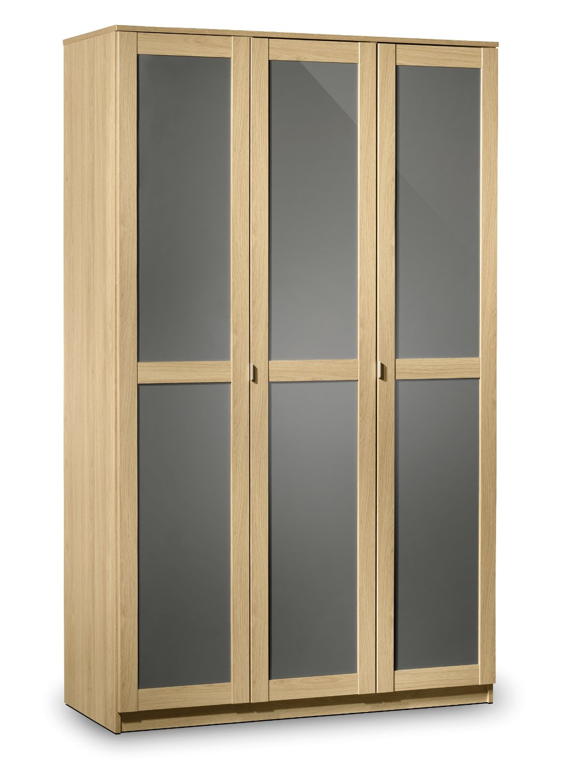 Photo of Julian bowen strada oak 3 door wardrobe