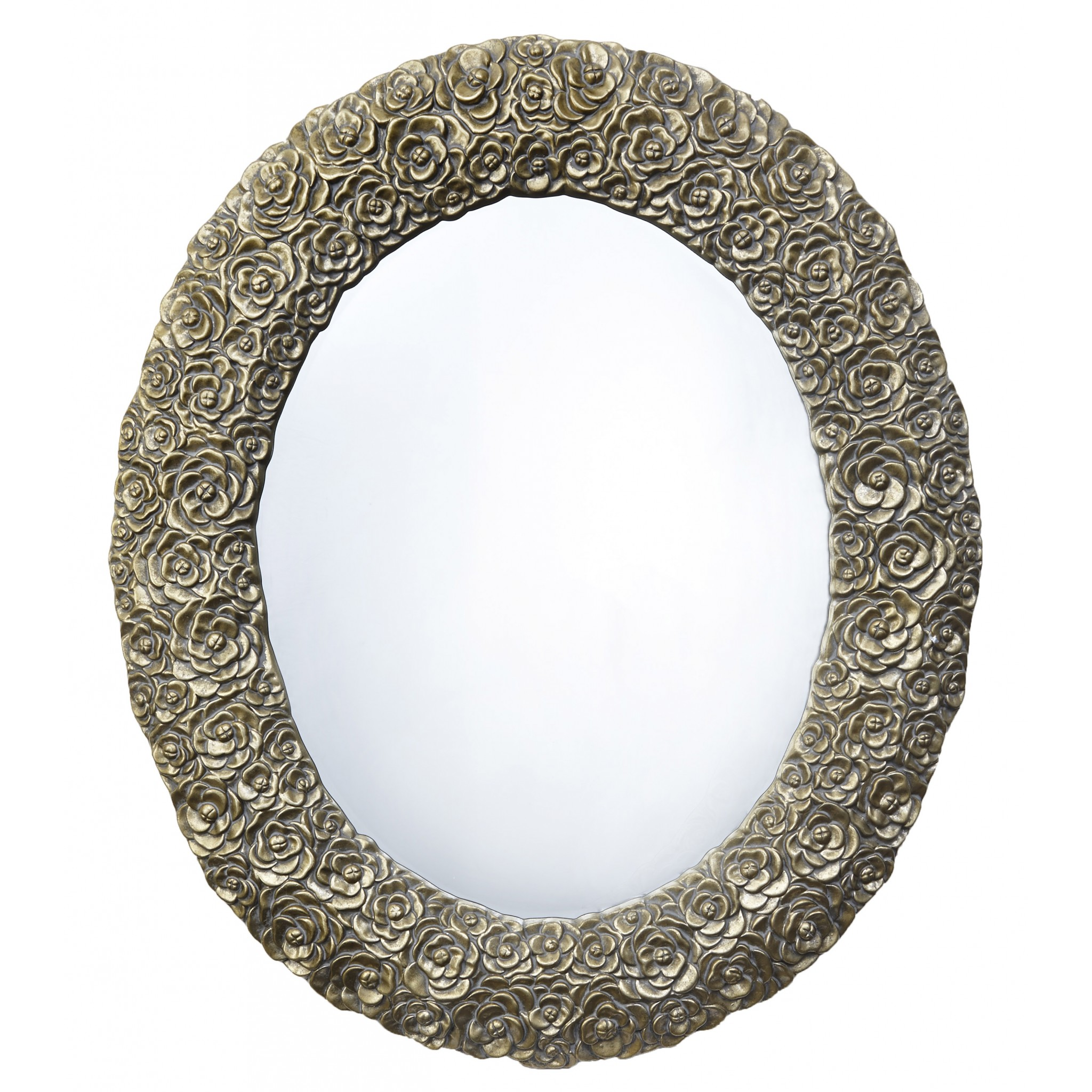 RV Astley Dana Light Antique Brass Wall Mirror