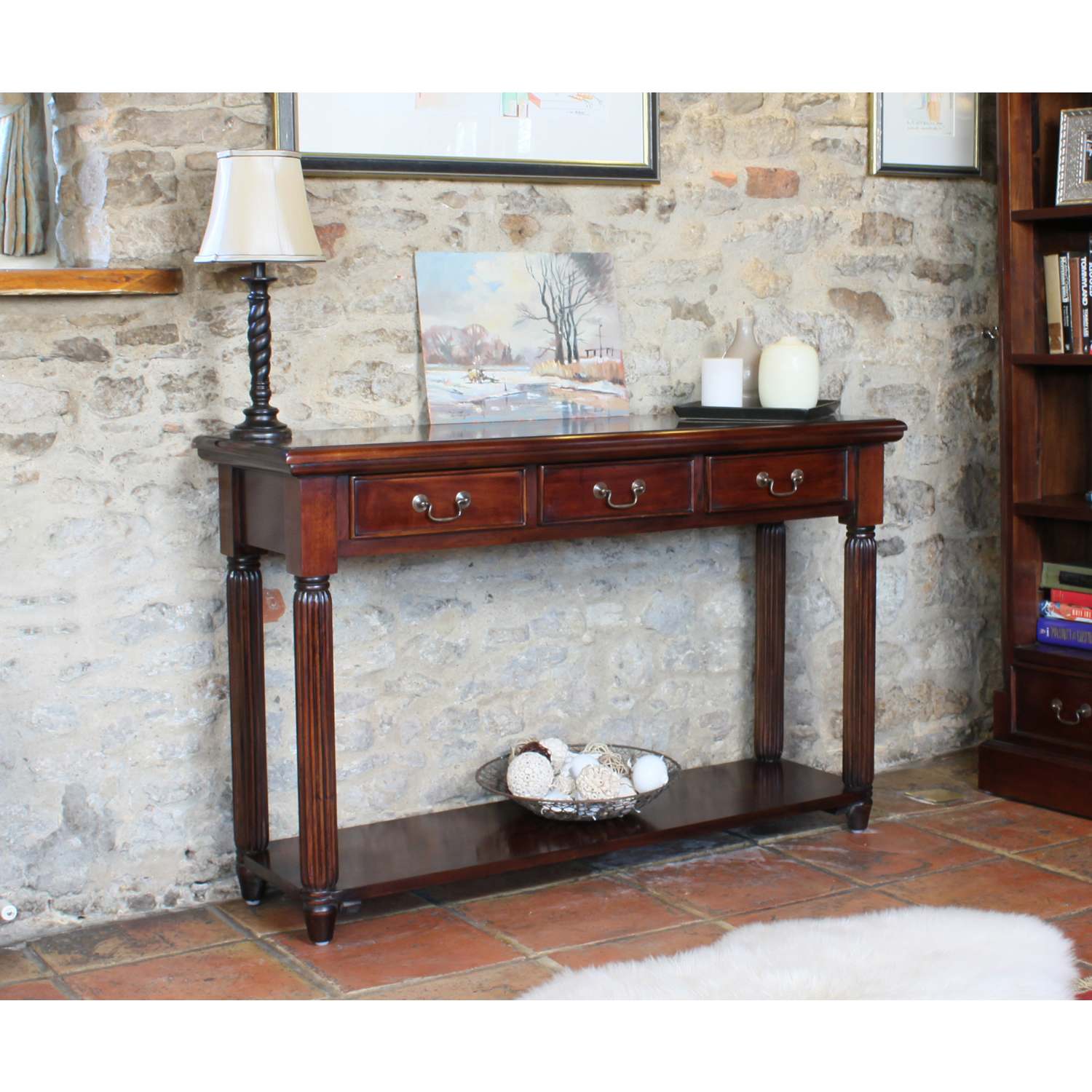 Baumhaus La Roque Console / Hall Table (With Drawers)
