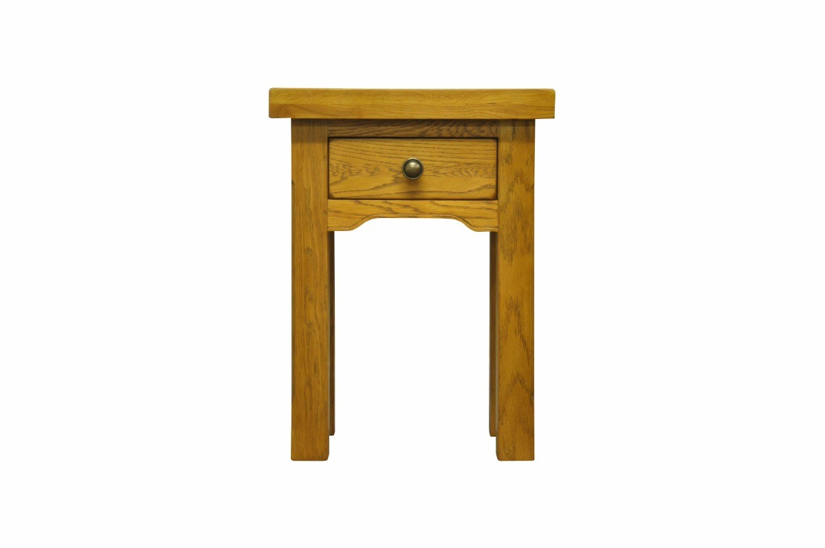 Photo of Lincoln oak side table