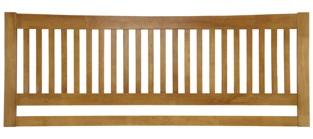 Serene Mya 3ft Single Honey Oak Wooden Headboard