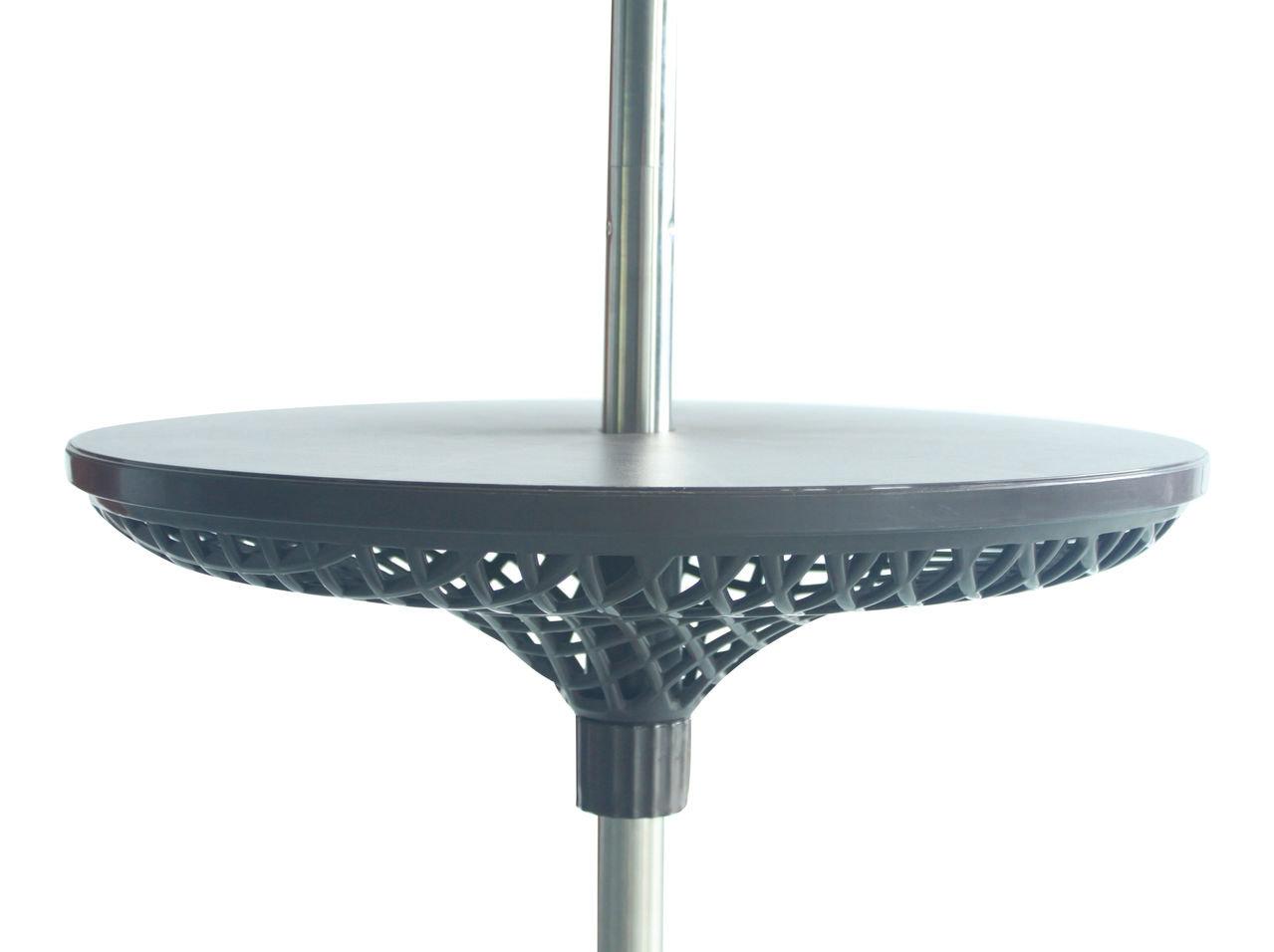 Photo of Leisuregrow parasol butler table - black