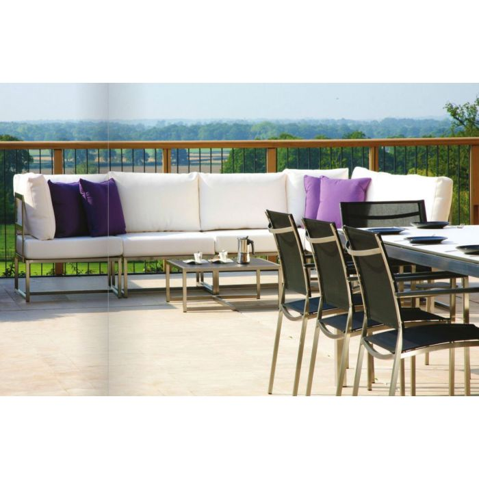 Photo of Westminster space 6pc corner sofa suite set with coffee table