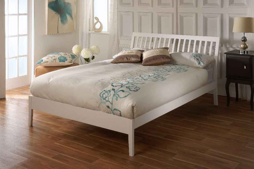 Limelight Ananke 4ft Small Double White Bed