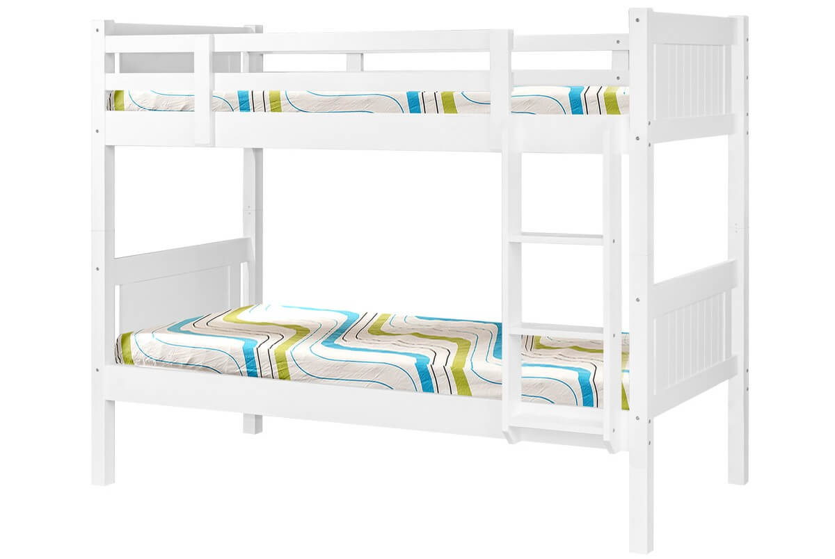 Photo of Hillywood 3ft single white wooden bunk bed