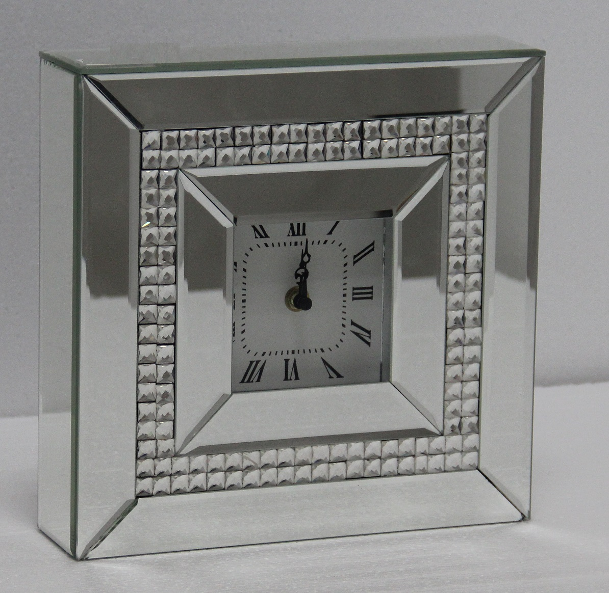 Photo of Fairmont bling 26cm mirror mantle clock