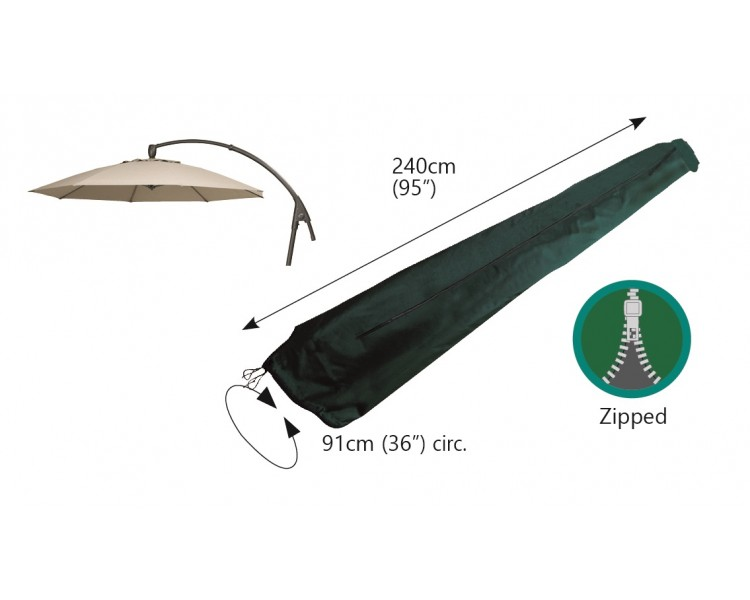 Photo of Bosmere cantilever parasol cover