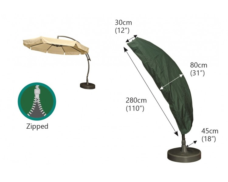 Photo of Bosmere sail parasol cover