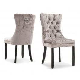 Fairmont Cameo Grey Fabric Dining Chairs