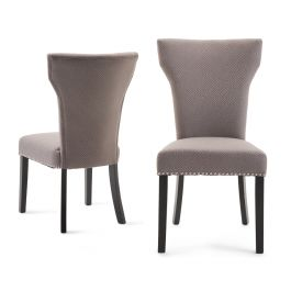 Fairmont Dafne Grey Fabric Dining Chairs