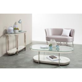 Excellent Keira Glass Top With Silver Frame Coffee Table Machost Co Dining Chair Design Ideas Machostcouk