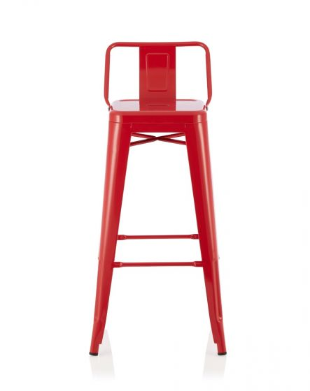 Strange Aliza Red 66Cm Fixed Counter Height Barstool Gmtry Best Dining Table And Chair Ideas Images Gmtryco