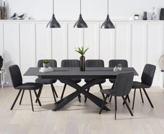 Grey Stone Dining Table, Stone Dining Room Furniture