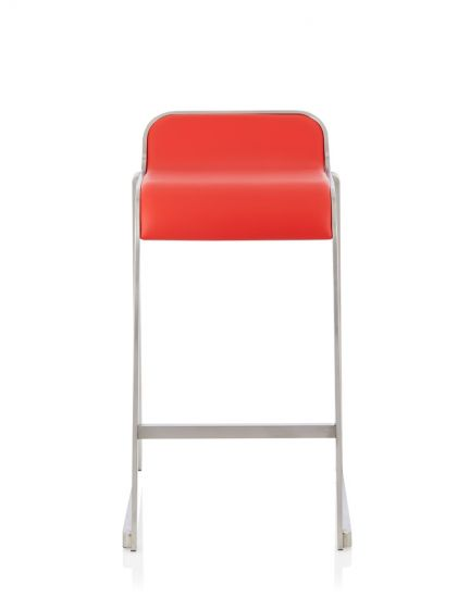 Awe Inspiring Celosia Red Faux Leather Fixed Counter Height Barstool Gmtry Best Dining Table And Chair Ideas Images Gmtryco