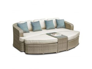Maze Tuscany Toronto Brown Rattan Daybed